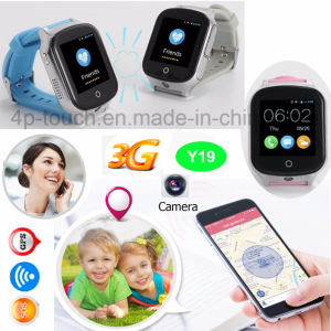 3G WiFi GPS Watch Tracker with Camera Y19 pictures & photos