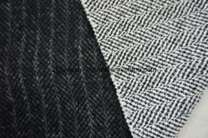 Different Double Face Black&White Wool Fabric pictures & photos