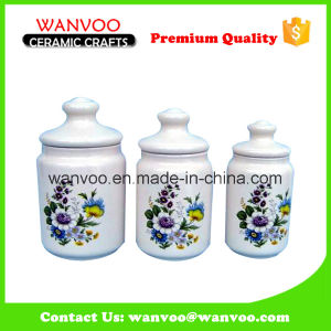Kitchen Canister Set Ceramic Storage Jar Cookie Jar pictures & photos