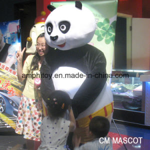 Very Popular Kungfu Panda Animal Mascot Costume for Wear pictures & photos