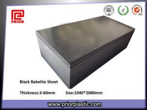 ESD Black Bakelite Phenolic Paper Laminated Sheet pictures & photos