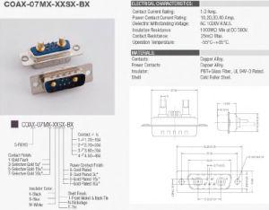 Coaxial Connector, Power Connector, Medical Connector pictures & photos