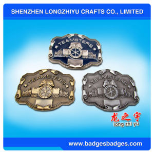 Professional Manufactur Fashion Decorative Dress 3D Brass Belt Buckle pictures & photos