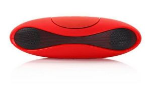 Portable USB TF Card Football Wireless Bluetooth Stereo Speaker (BS-13) pictures & photos