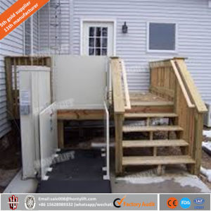 Electric Vertical Wheelchair Lifts Platform/Outdoor Wheelchair Lifts pictures & photos