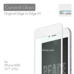 3D Curved Edge Design Cold Mould Tempered Glass Screen Protector for iPhone6s pictures & photos