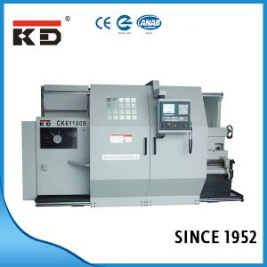 Big Bore Flat CNC Lathe Ck61100b/4000 pictures & photos