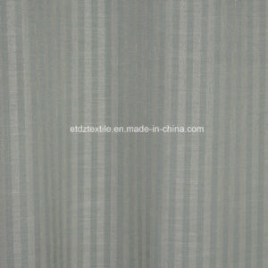Modern Strip Pattern of Linen Touching Window Curtain Fabric pictures & photos