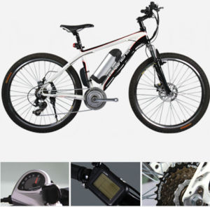 26 Inch Mountain Electric Bicycle with Suspension Fork (LN26M05)