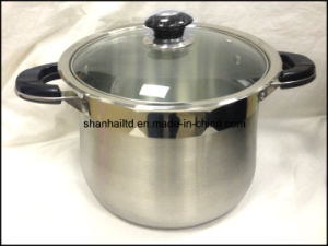 Deep Stock Pot Stockpot Stainless Steel Cookware Kitchenware pictures & photos