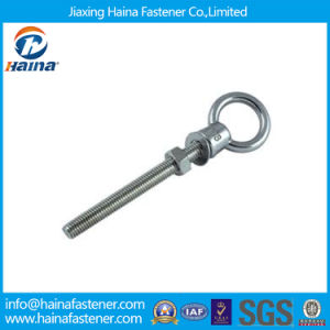 DIN580 Long Shank Eye Bolt with Nut and Washer pictures & photos