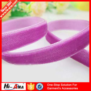 Trade Assurance Finest Quality Stretch Velvet Ribbon pictures & photos
