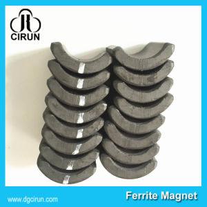 Custom Size Arc Shape Ceramic Ferrite Motor Magnet pictures & photos