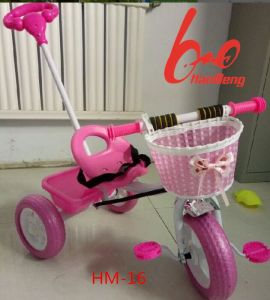 Cheap Price Baby Tricycle for Sale with Push Handle pictures & photos