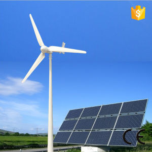 Hot! Wind Solar Hybrid System with Controller, Inverter and Battery pictures & photos