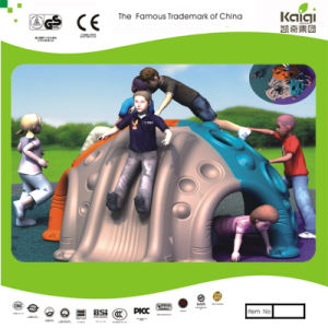 Kaiqi Children′s Plastic Climbing Slide Play Set for Playground (KQ50142B) pictures & photos