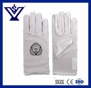 Traffic Police Hand Glove (SYHG-120) pictures & photos