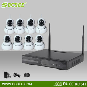 Home Remote Control Wireless Indoor Surveillance CCTV Dome System