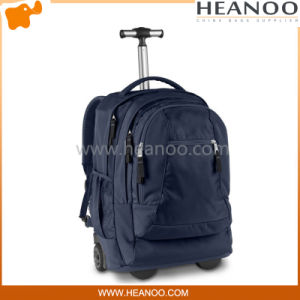 Branded School Laptop Luggage Travel Bags Backpack with Trolley Wheels pictures & photos