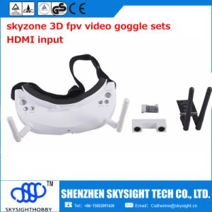Fpv Goggles Sky02s All in One Fpv Video Goggles 5.8GHz 40CH with DVR, HDMI Input