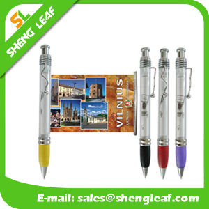 Custom Logo Printed on The Banner Custom Pens (SLF-LG042) pictures & photos