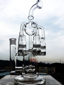 New Design Wholesale High Quality Recycler Smoking Glass Water Pipe pictures & photos