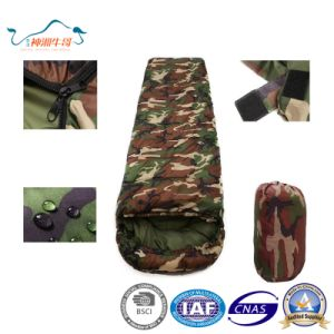 Camouflage Warm Envelope Outdoor Sleeping Bag pictures & photos