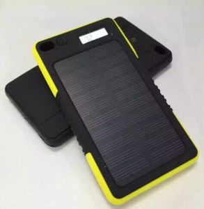 5000mAh Waterproof Solar Charger Solar Power Bank pictures & photos