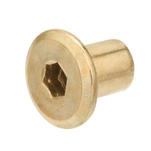 Brass Machined Joint Connector Hex Socket Drive Cap Nut pictures & photos