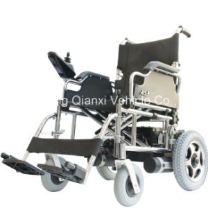 Automastic Electric Wheel Chair for Handicapped with Two 300W Motor pictures & photos