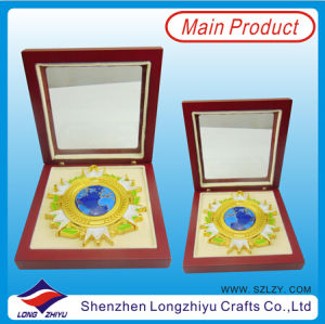 Police Commemorative Medal with Wooden Box pictures & photos