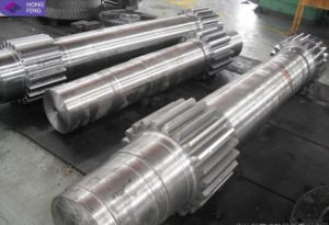 High Precision Forged Pinion Shaft Forging Shaft pictures & photos