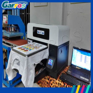 Garros 2016 Digital Flatbed Inkjet Textile Printing Machine 3D T-Shirt Printer pictures & photos