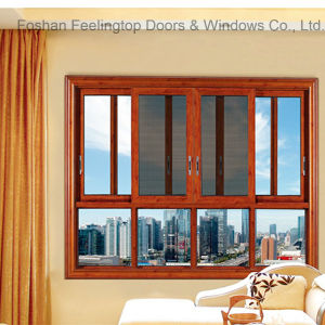 Reliable Commercial Aluminum Frame Sliding Window (FT-W126) pictures & photos