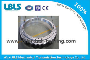 Gcr15 / 50mn Cross Roller Slewing Bearing for Tower Crane / Wind Turbines