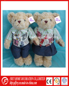 Cheap Factory for Plush Bear Toy of Promotional Advertising Gift