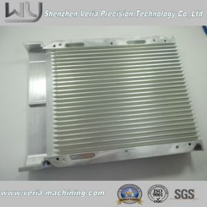 High Precision CNC Aluminum Machining Part / CNC Machine Part Radiator Component Al6061 Ra0.8-3.2