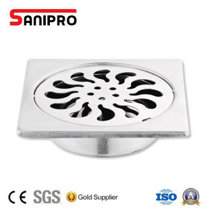 Bathroom Square Stainless Steel Shower Floor Grate Drain pictures & photos