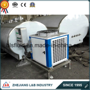 Horizontal Stainlesssteel Ttc-F Milk Cooling Tank pictures & photos