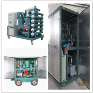 Outdoor Trailer Type Dielectric Oil Treatment Plants (ZYD-M-300) pictures & photos