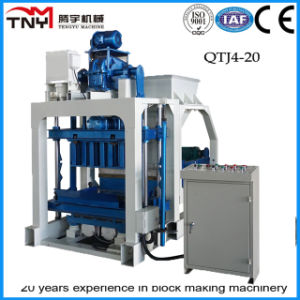 Qtj4-20 Concrete Hollow Block-Forming Machine/Concrete-Brick-Making-Machinery in Nigeria pictures & photos