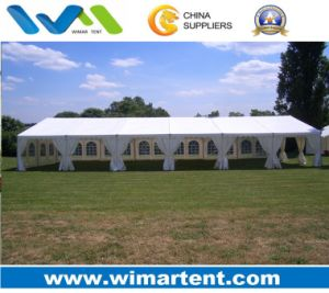 White PVC 10mx30m Tent Used for Wedding pictures & photos