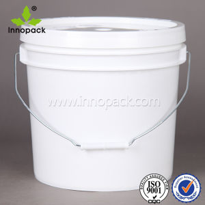 3.5gallon American-Stlyle Plastic Bucket with Handle and Lid pictures & photos