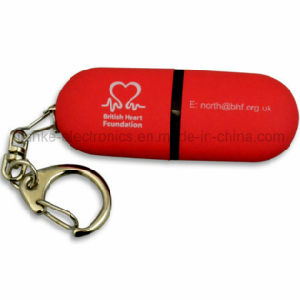 High Quality Blue USB Flash Drive with Custom Logo Printed (101) pictures & photos