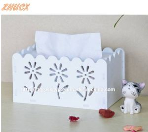 Wooden Box/ Wooden Tissue Box/ Wood Box Painted Creatively Crafts Cx-Tb01 pictures & photos