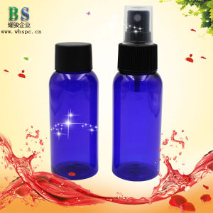 100ml Plastic Pet Boston Bottle with Spray pictures & photos