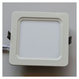 8W CE Rounded Square Anti-Glare Nature White LED Panel Light