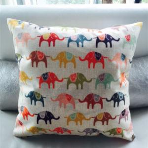 Fashion Elephant Printed Cushion Digital Printed Cushion (LCU-85) pictures & photos