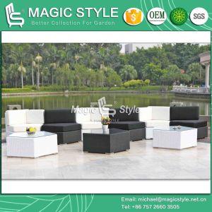 Wicker Sofa Set Garden Rattan Sofa Outdoor Patio Corner Sofa Combination Sofa Set (Magic Style) pictures & photos