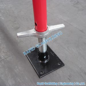 SGS Metal Types of Heavy Duty Screw Frame System Scaffolding pictures & photos